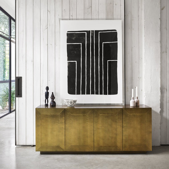 Four Hands Freda Aged Brass Sideboard