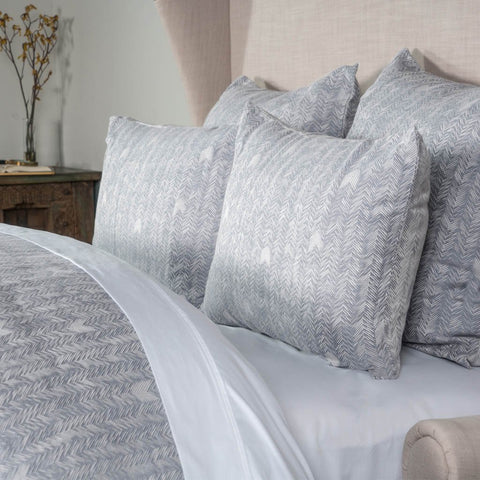 Heirloom Linen Duvet Collection - Orchid