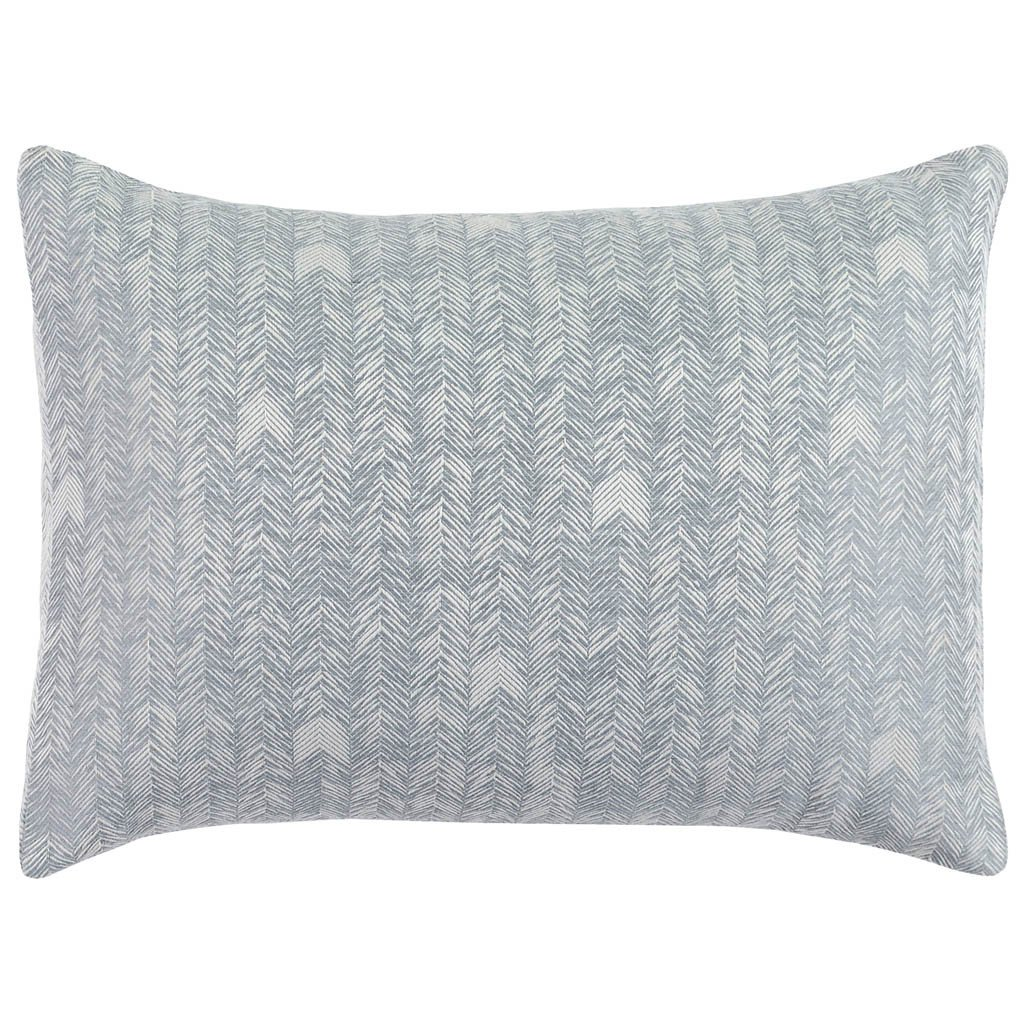 French Herringbone Duvet Collection - Storm