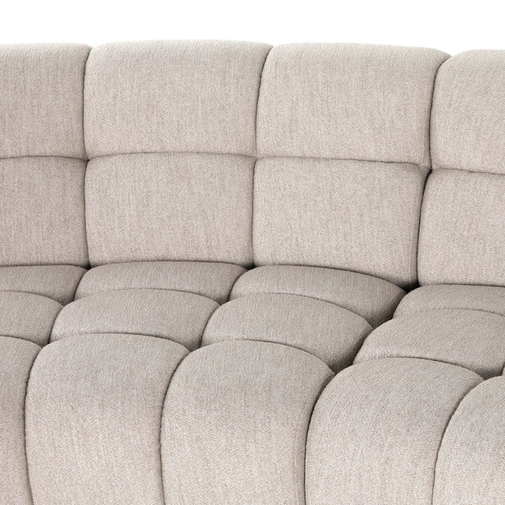 Gemma 4PC Sectional - Fayette Dove Tufting Details