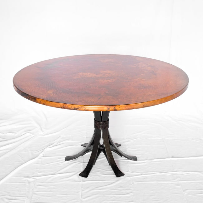 Gladstone Iron and Copper Dining Table