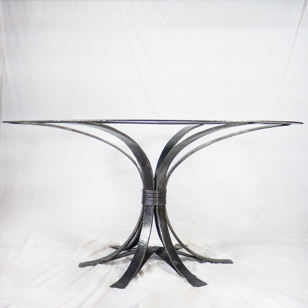 Iron Dining Table Base Gladstone Design