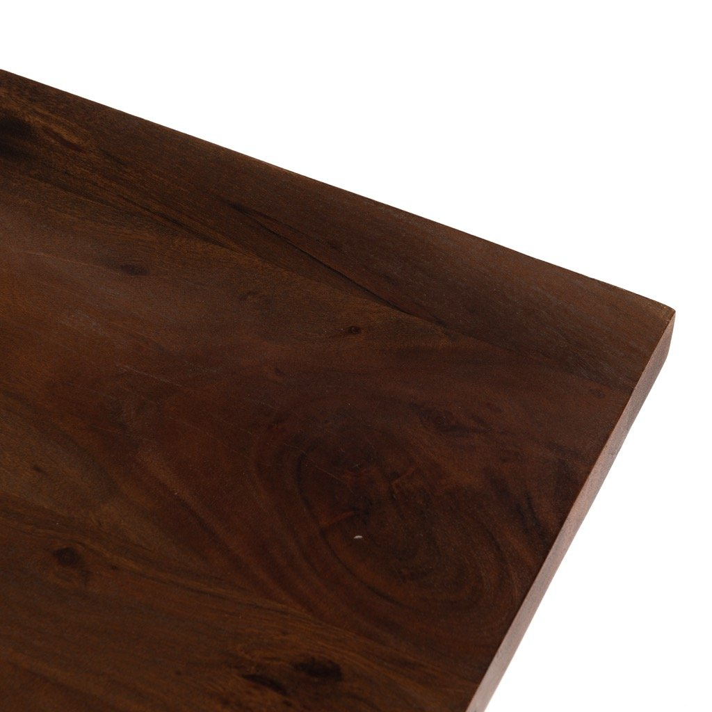 Goldie Dining Table - Toasted Acacia Tabletop View