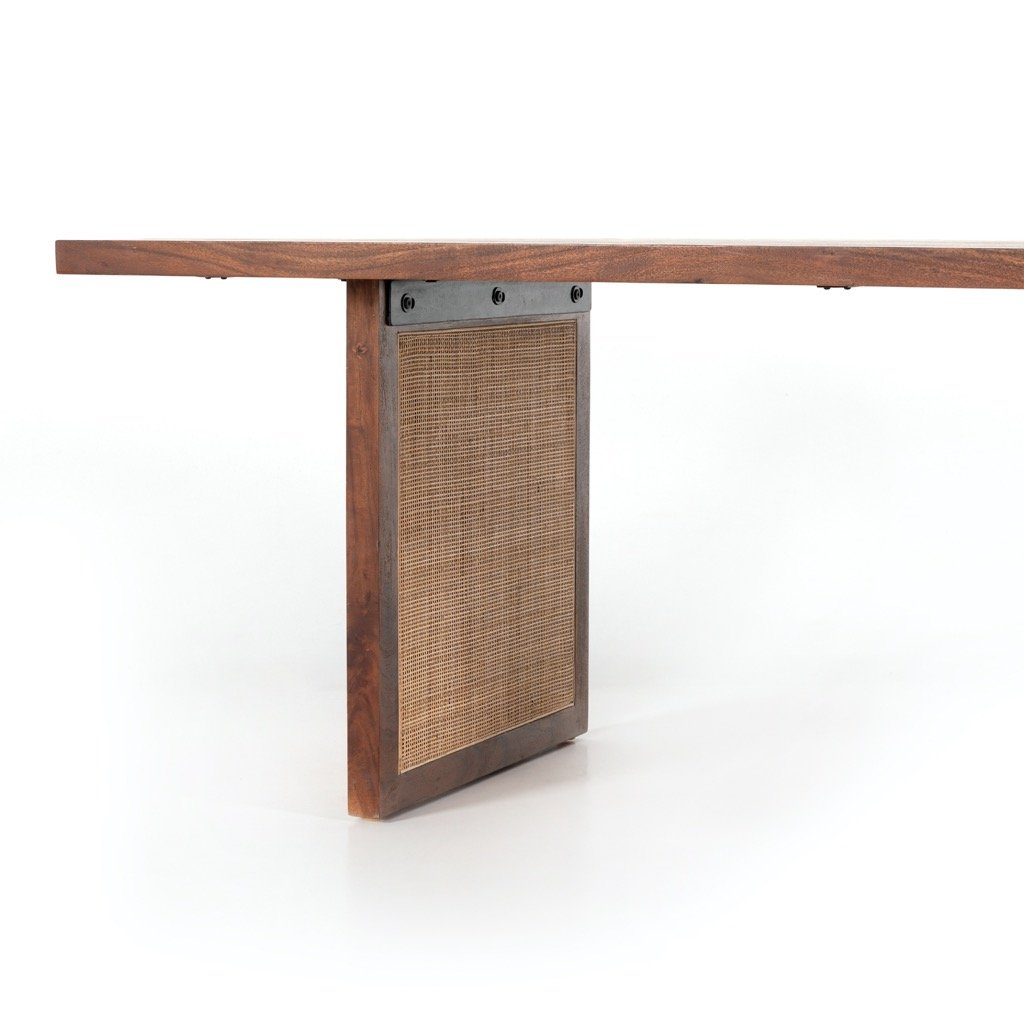 Goldie Dining Table - Toasted Acacia Underside View