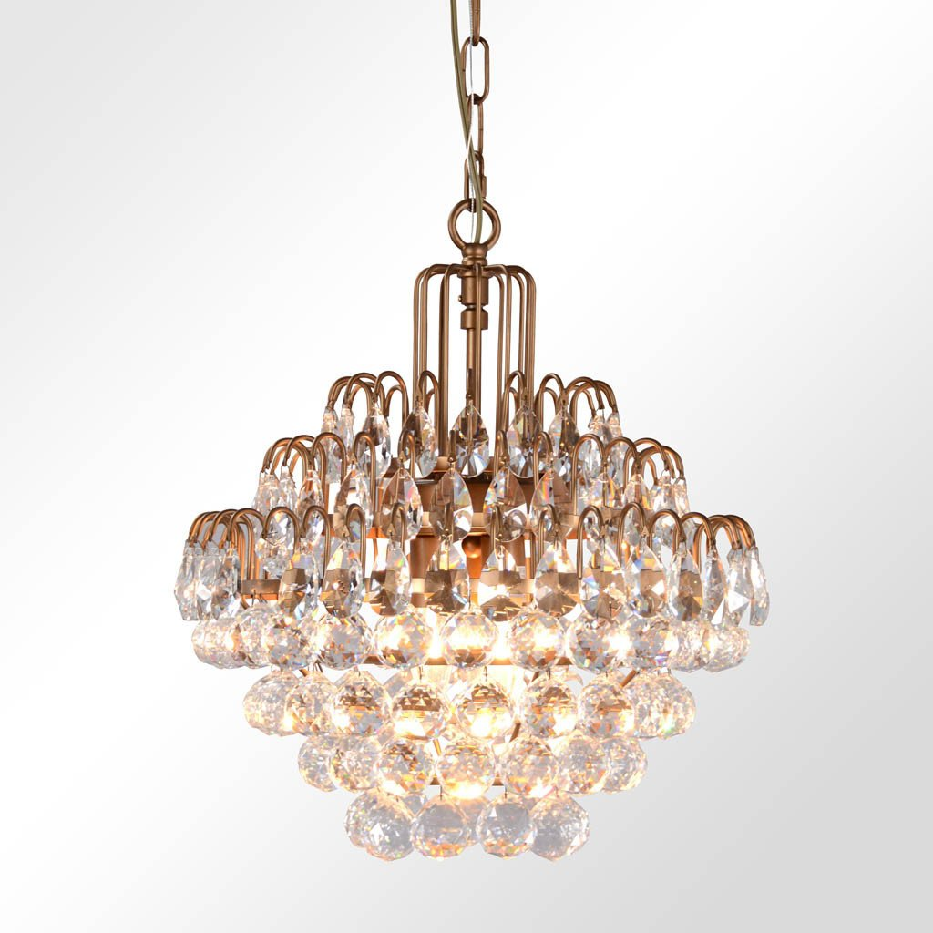 Grace Crystal Chandelier - Medium