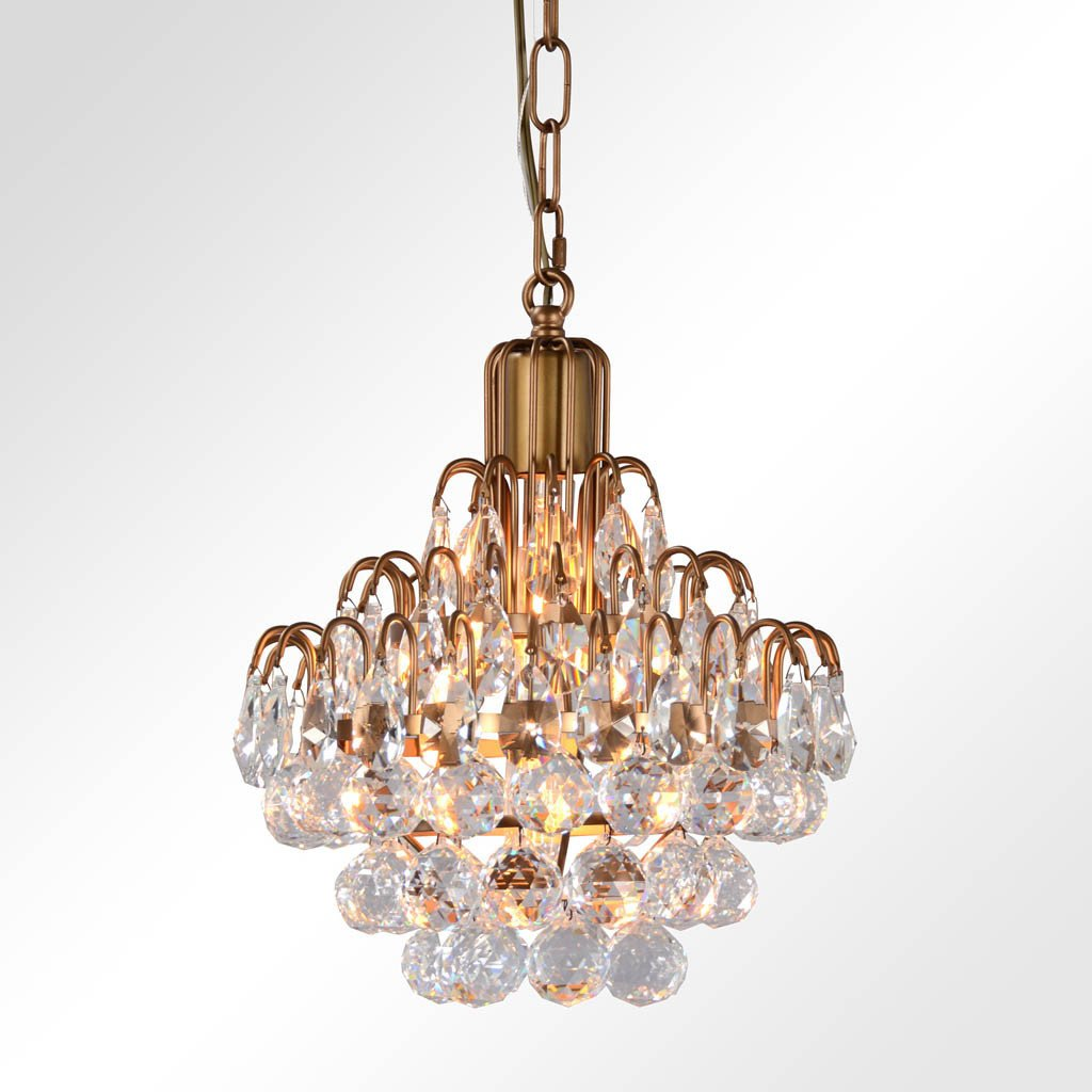 Grace Crystal Chandelier - Small