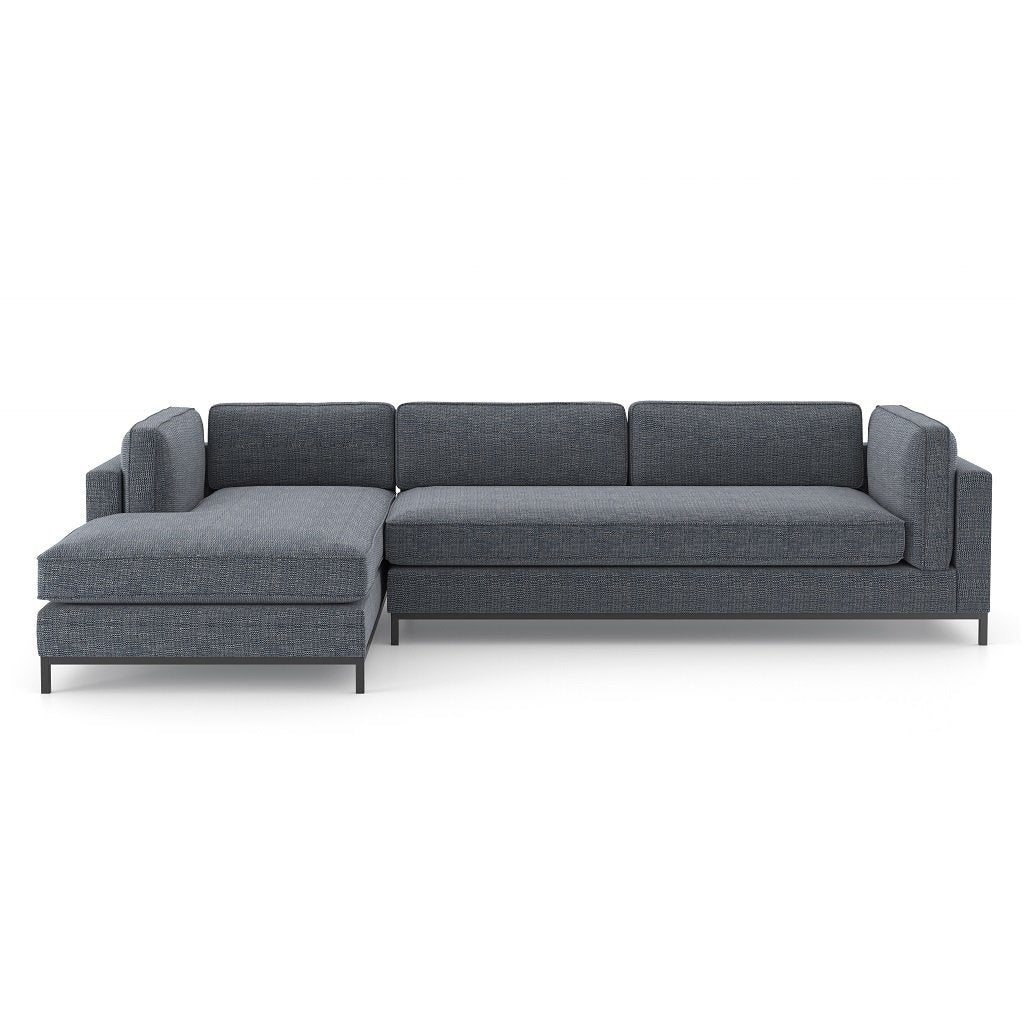 Grammercy Sectional Sofa - Cypress Navy