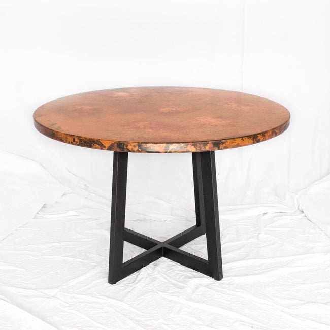 Modern Copper Dining Table