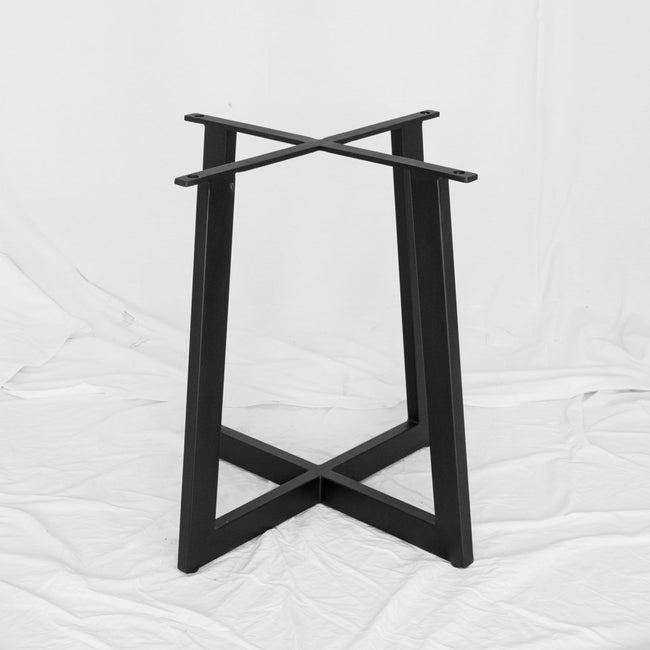 modern iron dining table base