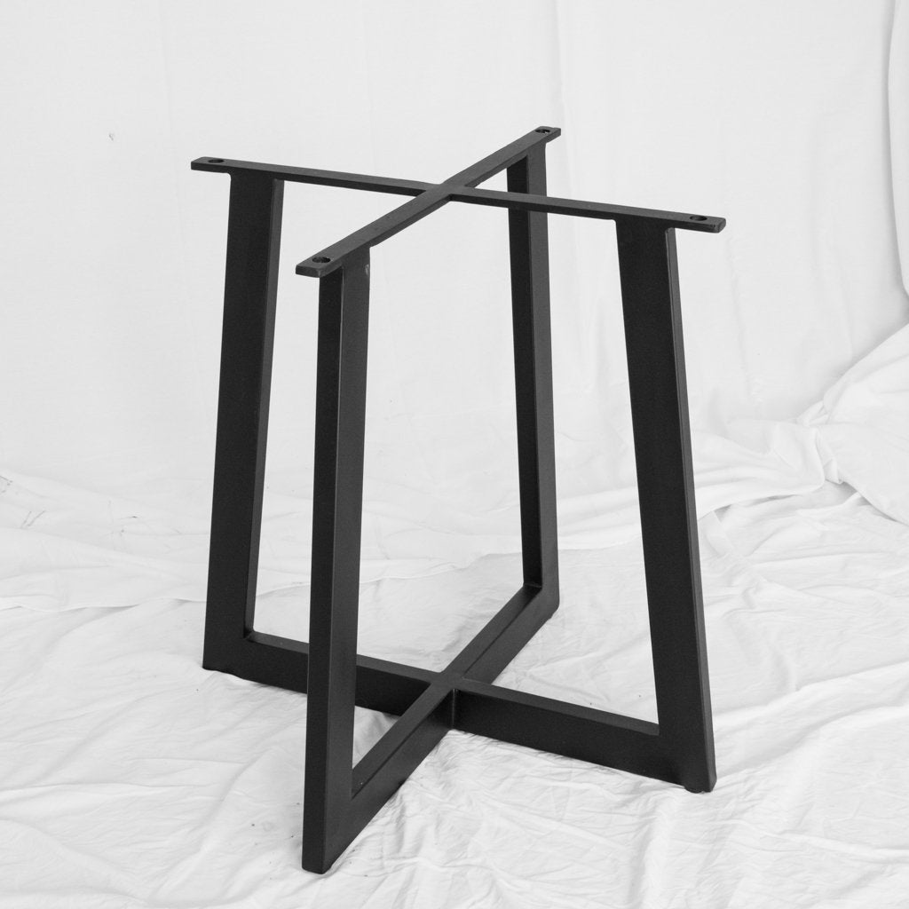 Black Iron Dining Table Base