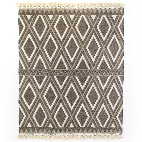 Color Block Chevron Rug