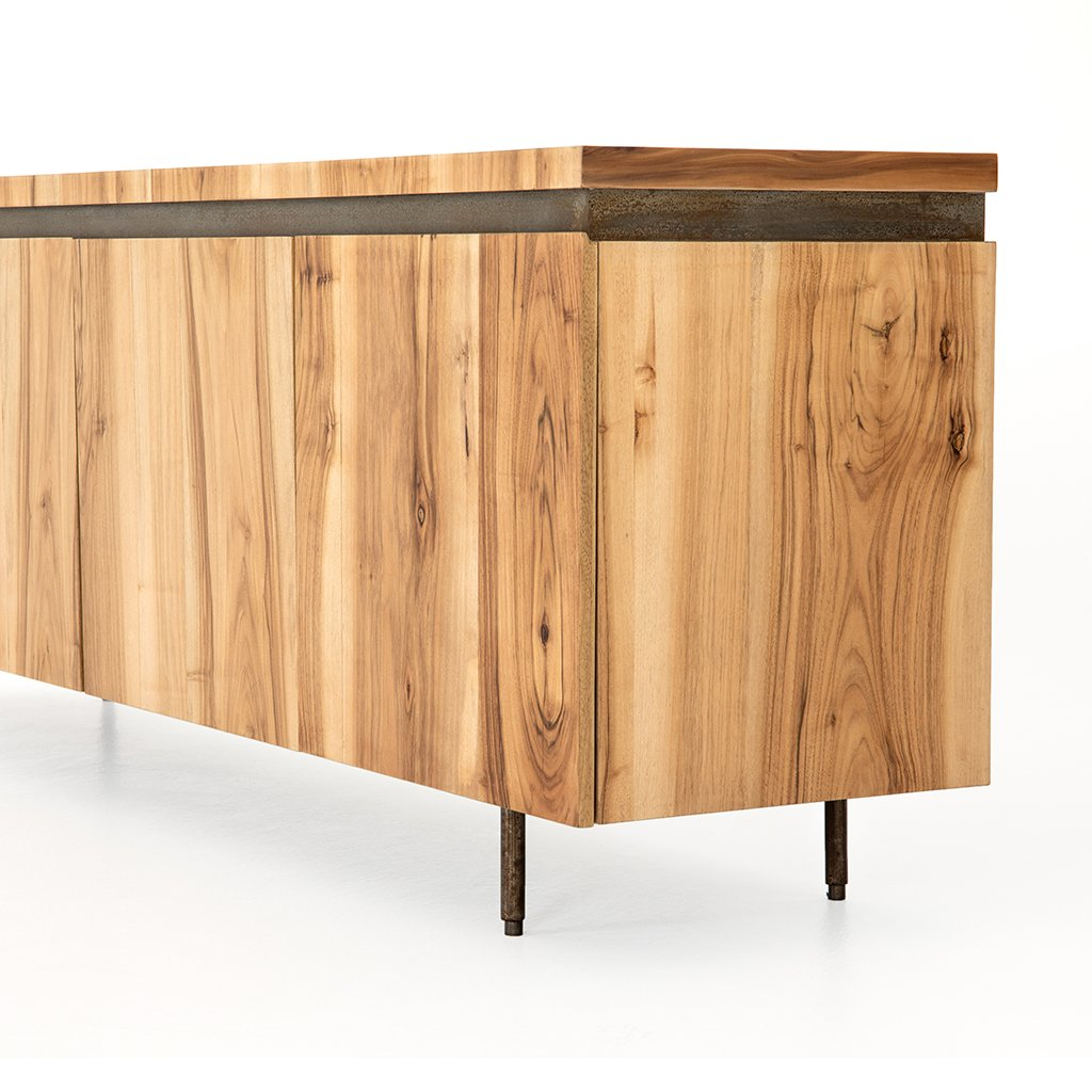 Angled View Hanley Wooden Sideboard