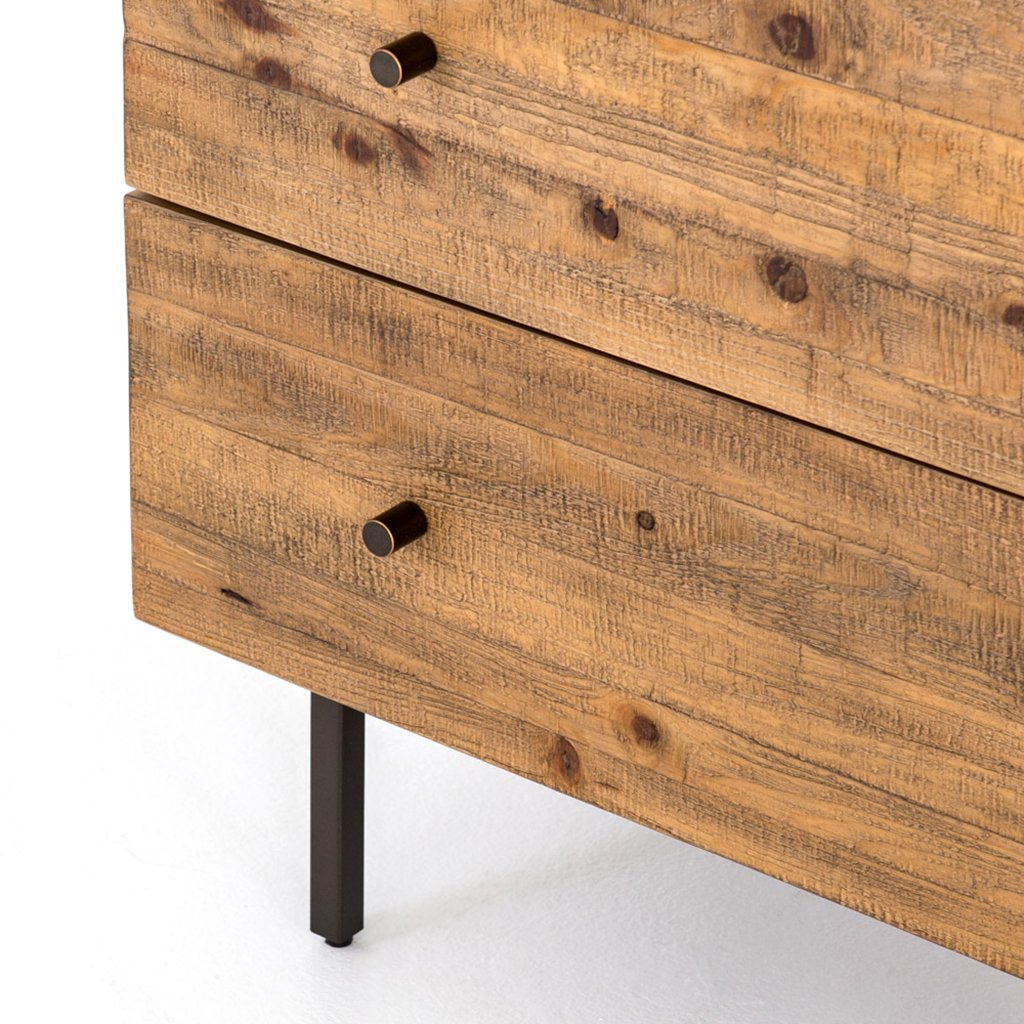 pine drawer three drawer dresser