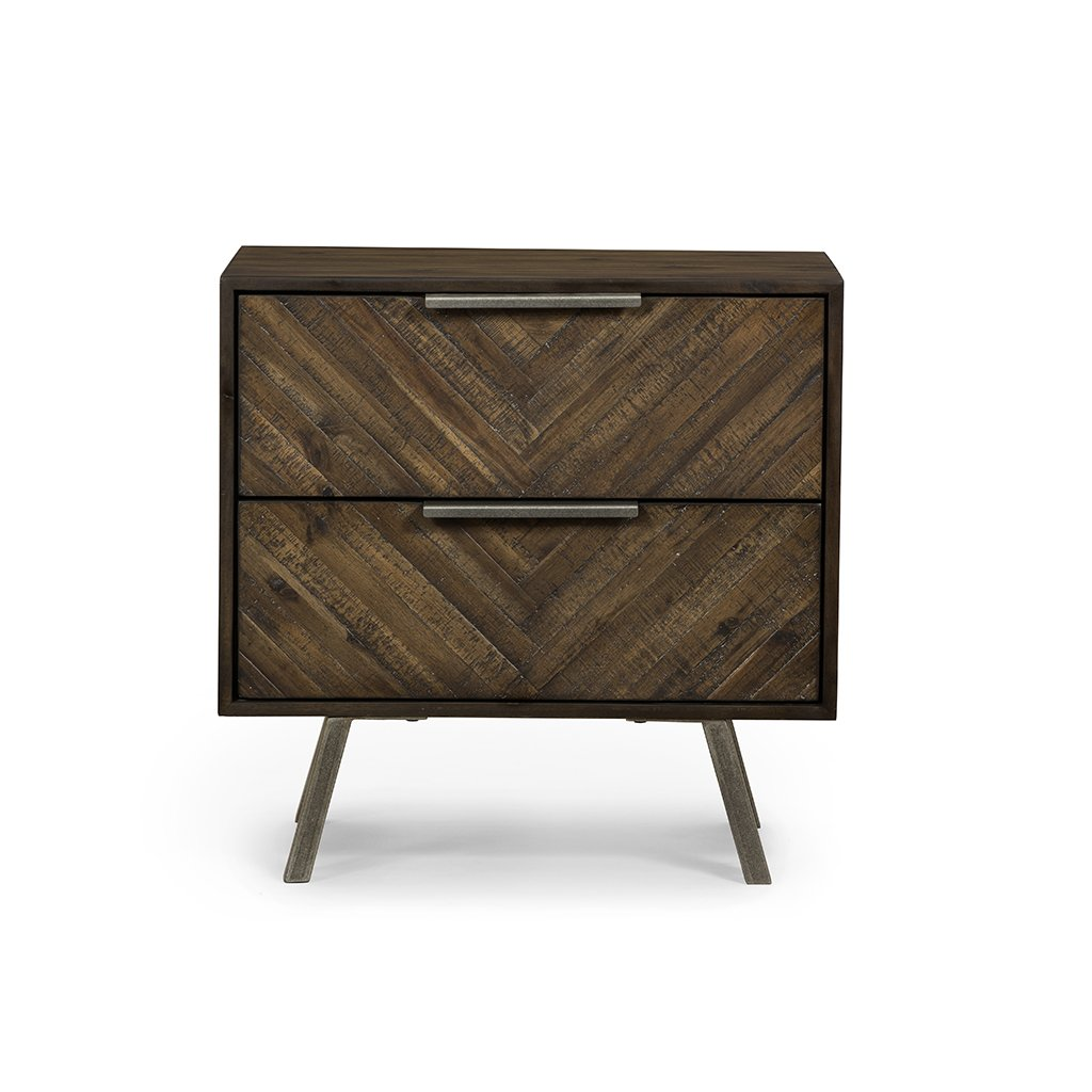 Harrington Nightstand VBLR-006 Four Hands Front Detail