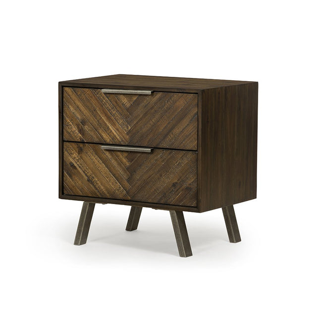 Harrington Nightstand VBLR-006 Four Hands