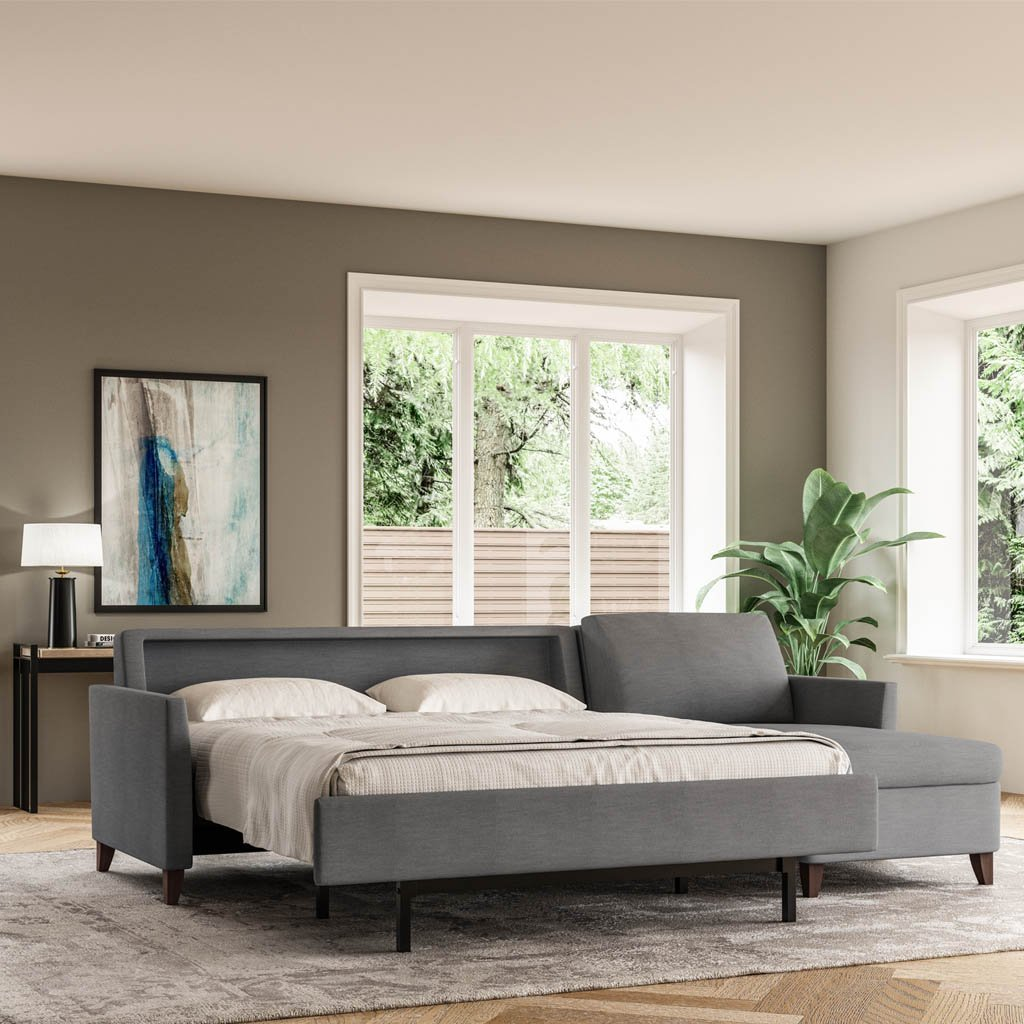 - Harris Sleeper Sofa By American Leather At Artesanos Design Collection
