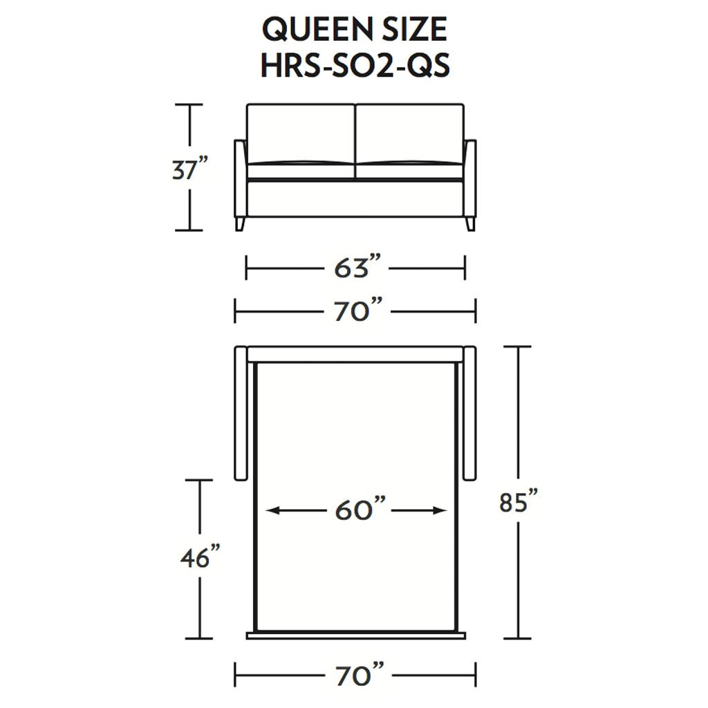 Harris Queen Size Sleeper Sofa