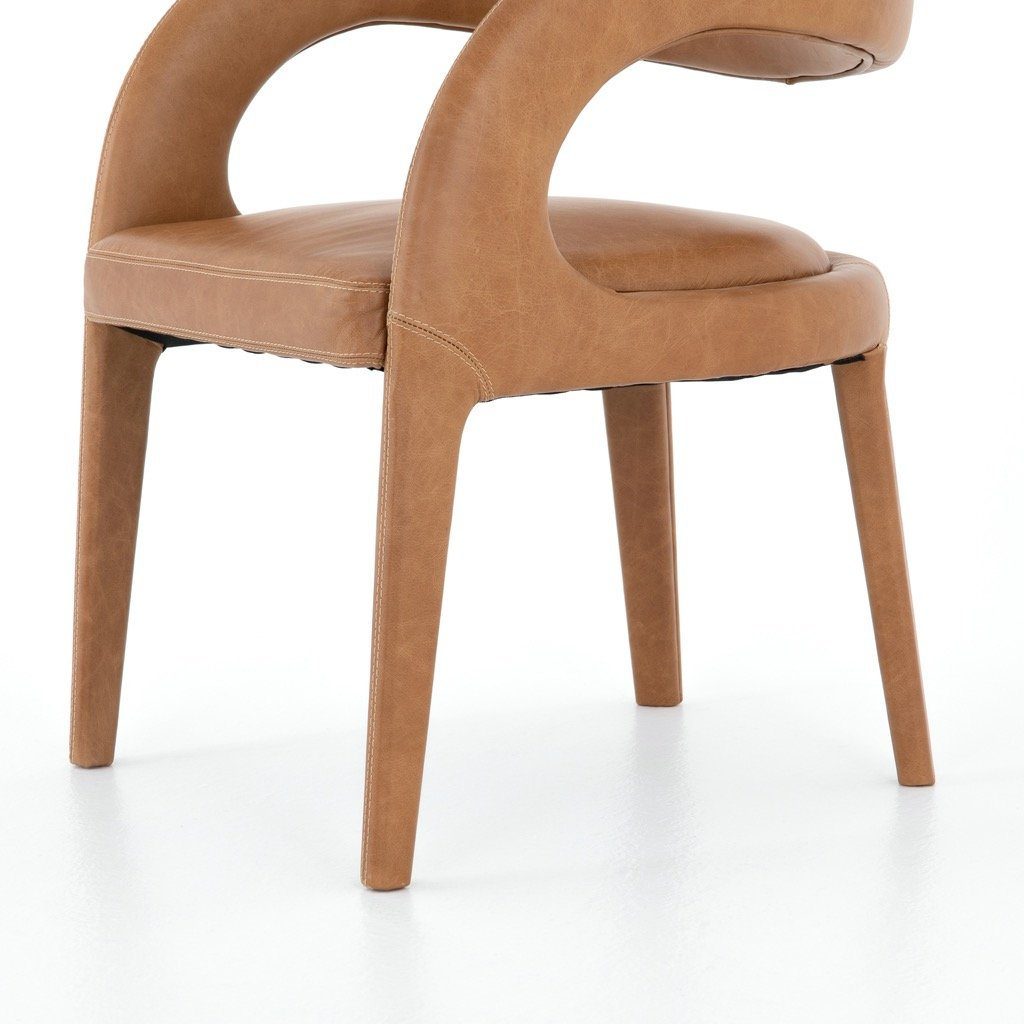 Hawkins Dining Chair - Butterscotch angle view