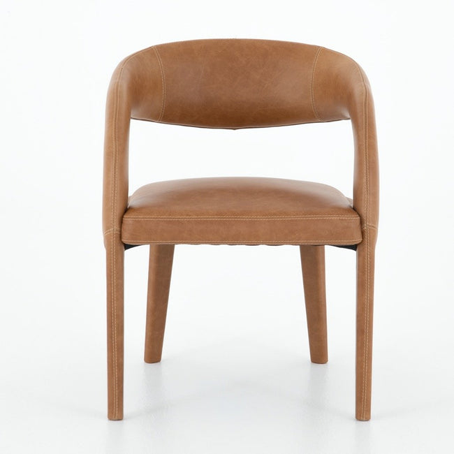 Hawkins Dining Chair - Butterscotch Front view