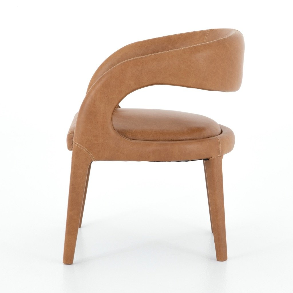 Hawkins Dining Chair - Butterscotch Side view