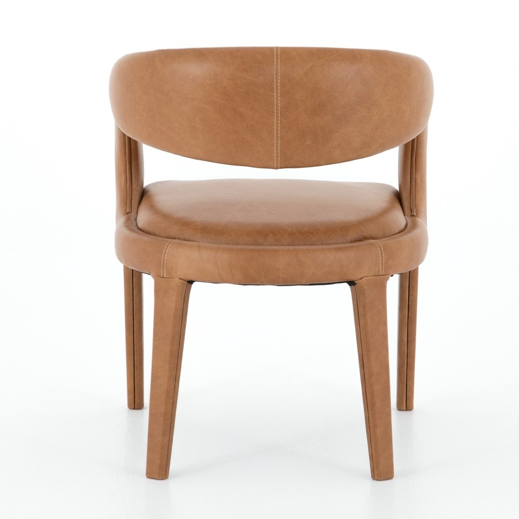 Hawkins Dining Chair - Butterscotch Back view