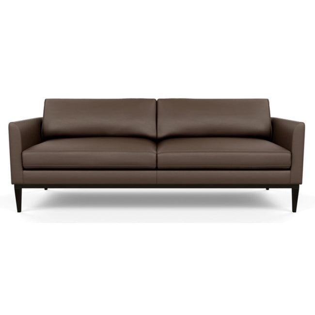 Henley Leather Sofa by American Leather Bali Brandy