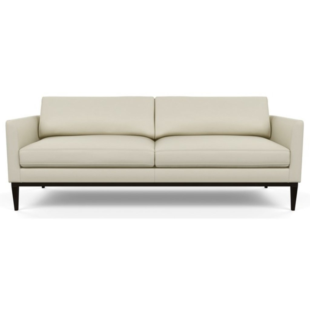 Henley Leather Sofa by American Leather Bali Cream