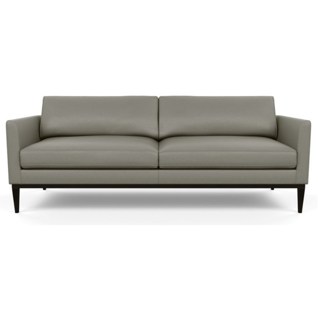 Henley Leather Sofa by American Leather Bali Gravel