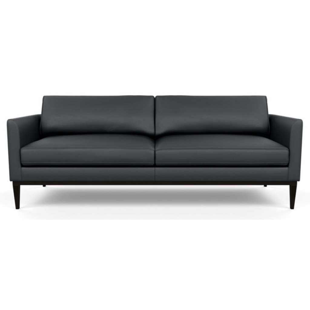 Henley Leather Sofa by American Leather Bali Storm
