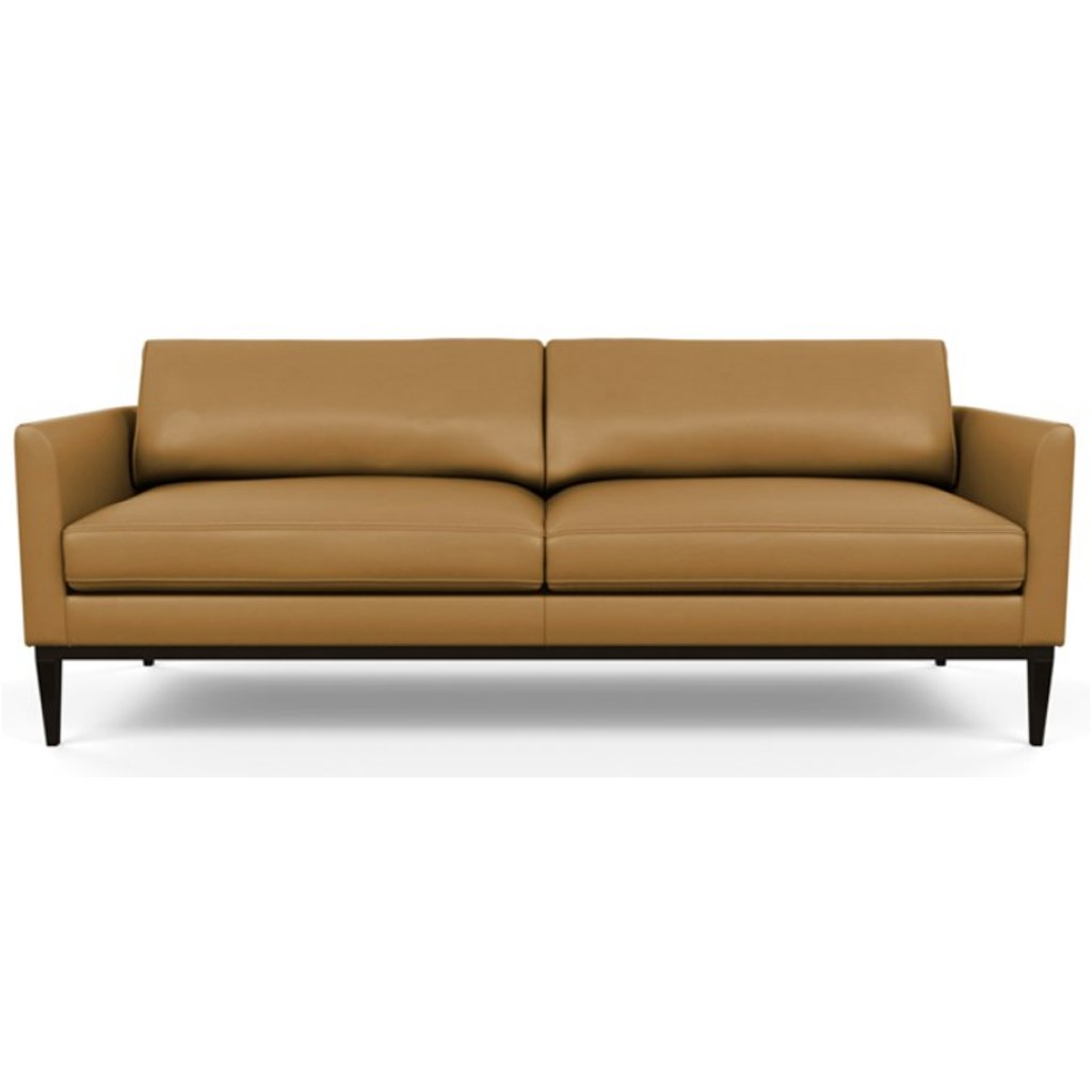 Henley Leather Sofa by American Leather Capri Butterscotch