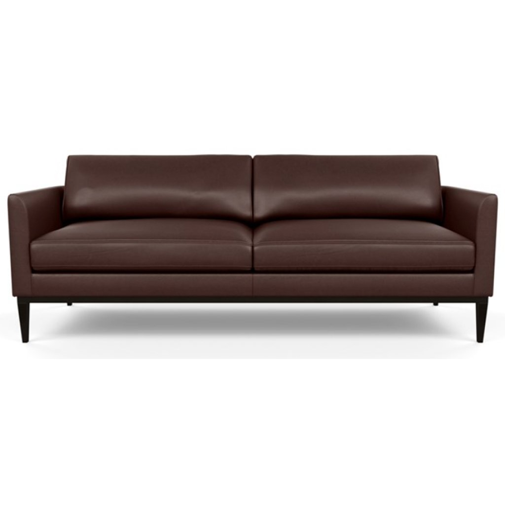 Henley Leather Sofa by American Leather Capri Russet