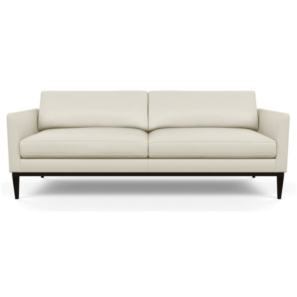 Henley Leather Sofa by American Leather Capri Sand Dollar