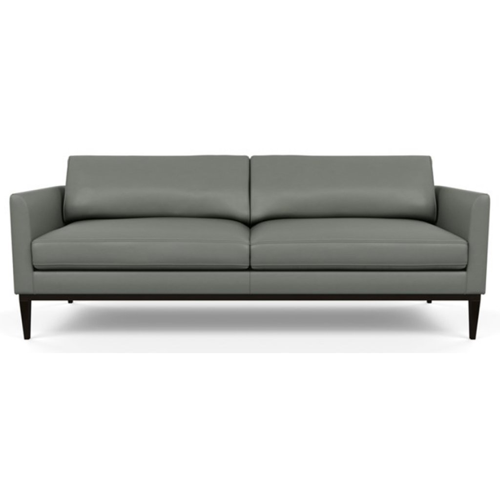 Henley Leather Sofa by American Leather Capri Shadow