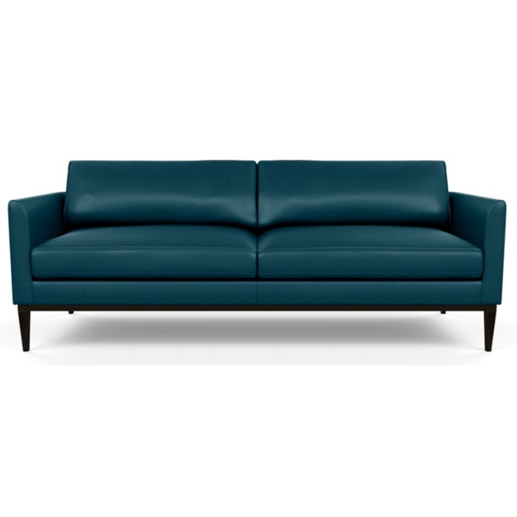Henley Leather Sofa by American Leather Capri Shoreline