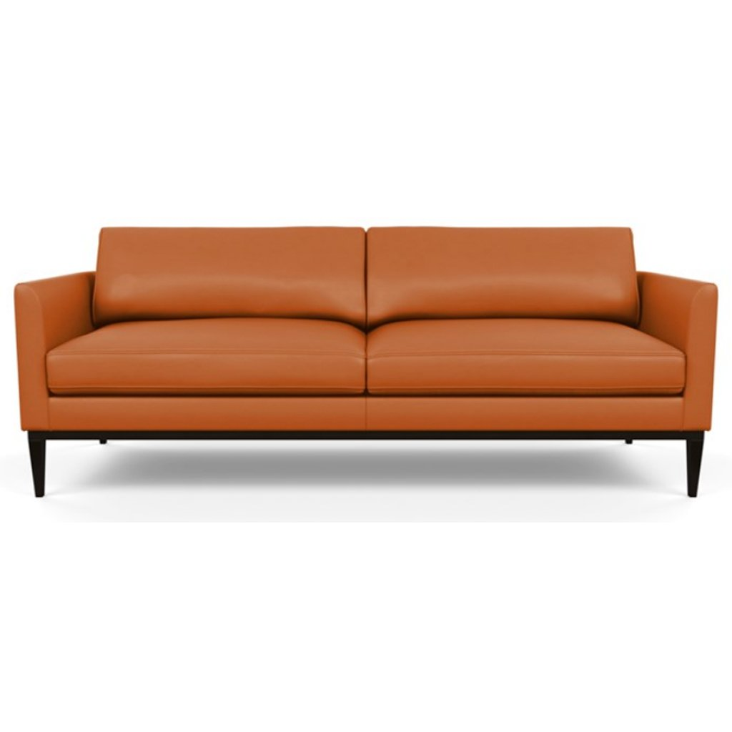 Henley Leather Sofa by American Leather Capri Sunrise