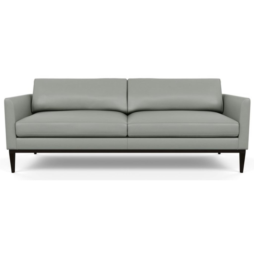 Henley Leather Sofa by American Leather Capri Thundercloud