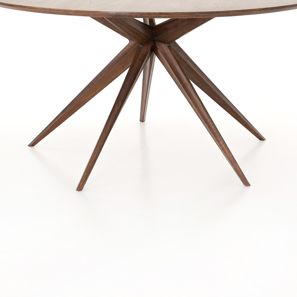 Hewitt Round Dining Table CIMP-260 Star Base View