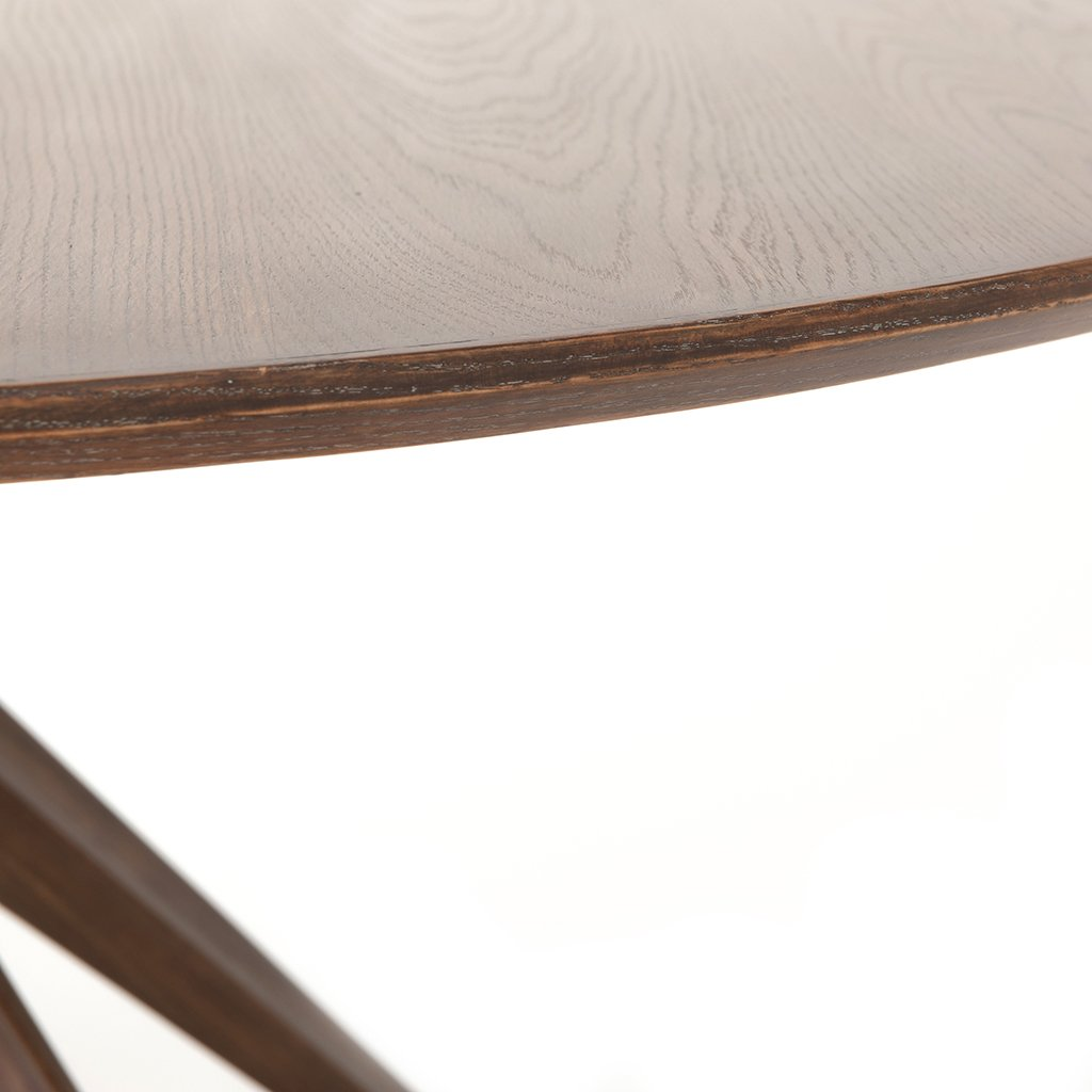 Hewitt Round Dining Table CIMP-260 Edge Detail