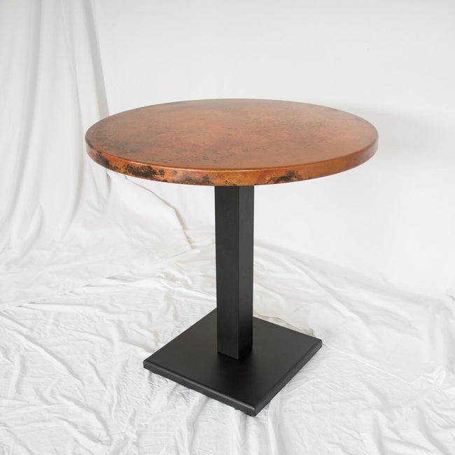 Imogene Copper Bistro Table Artesanos Design Collection