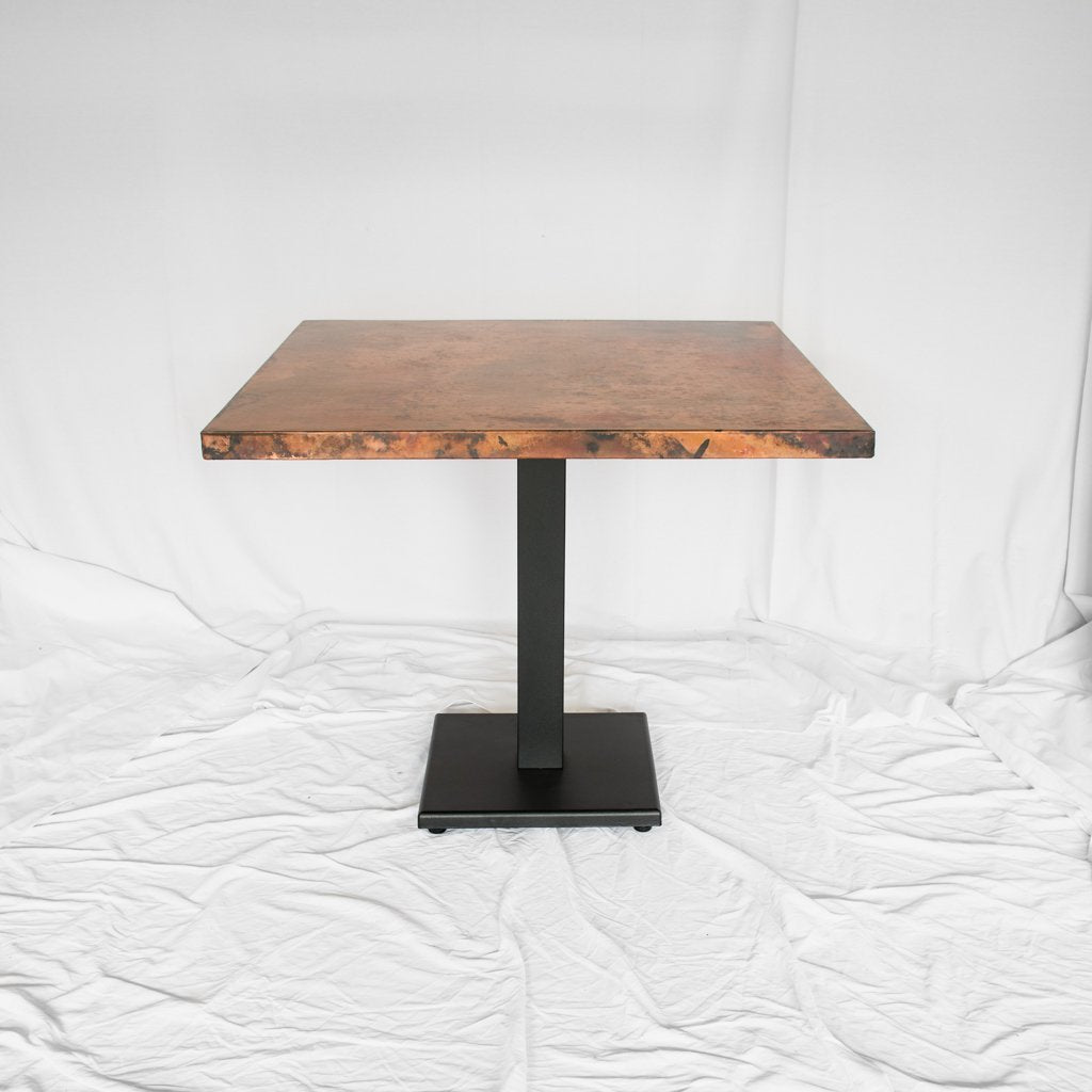 Square Copper Dining Table
