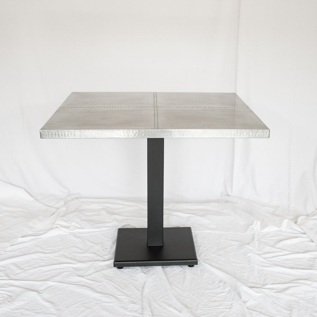 Artesanos Zinc Restaurant Table