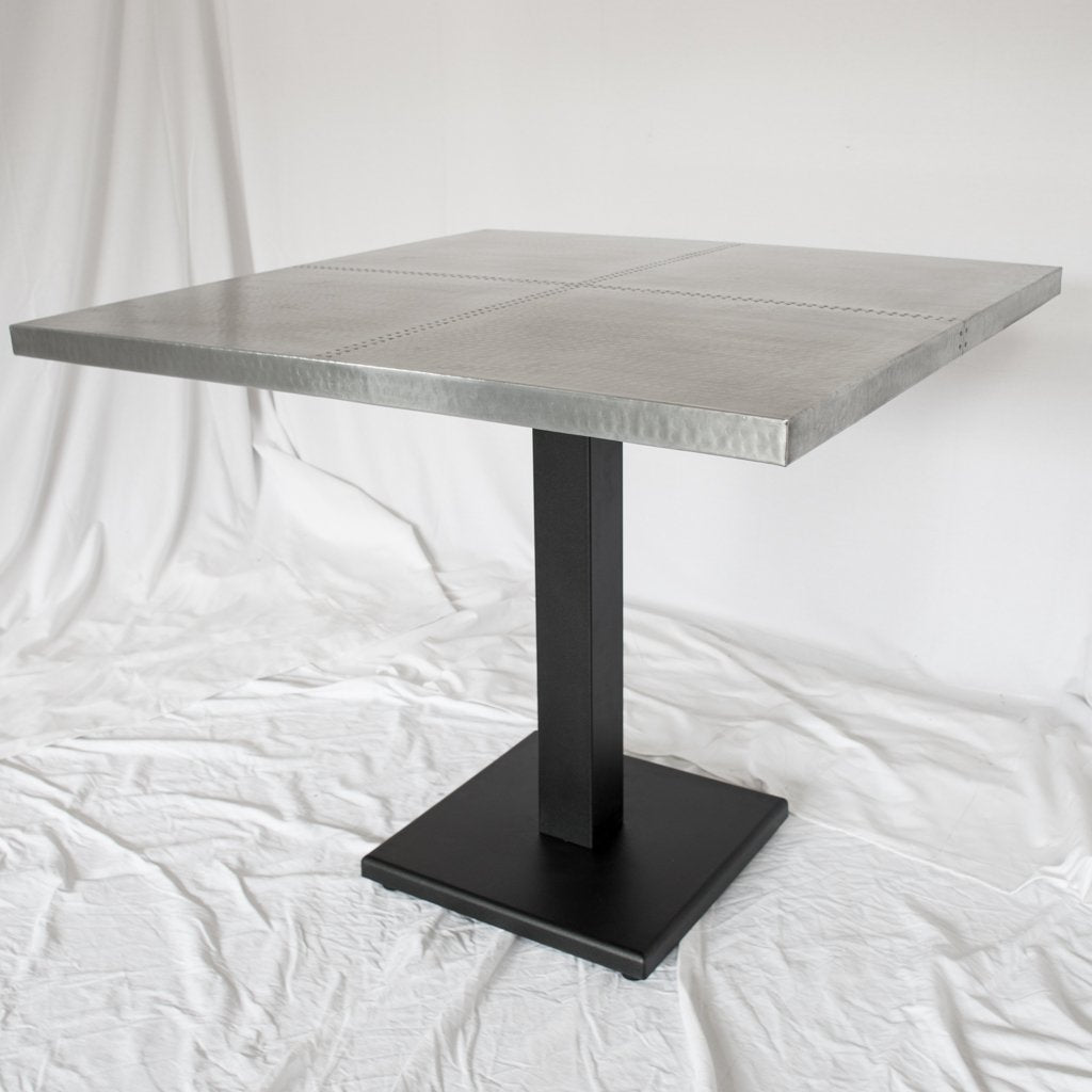 Imogene Square Zinc Bistro Table