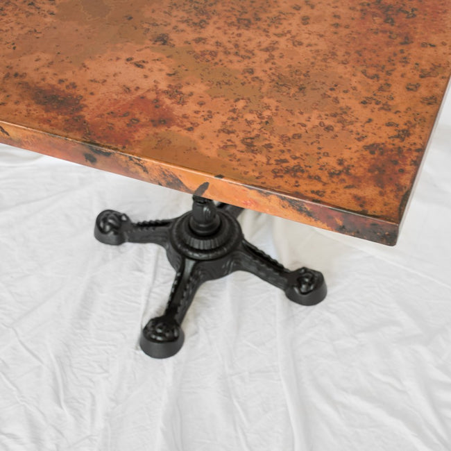 Ingram copper bistro table