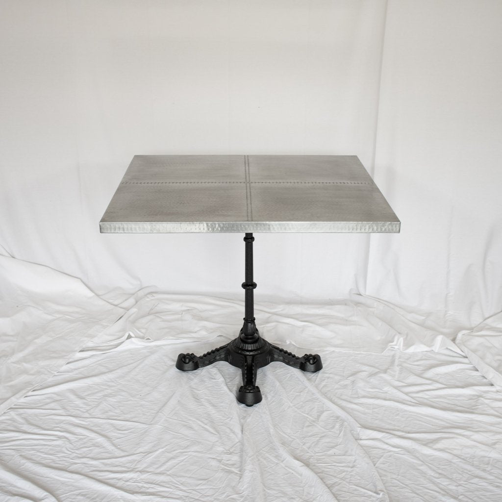 Artesanos Ingram Sqaure Zinc Bistro Table
