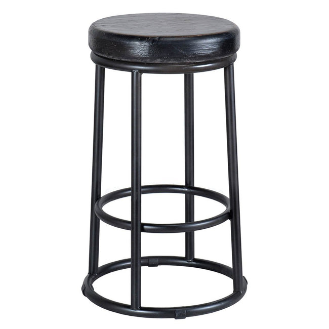 Jaden Fun Stool - Black
