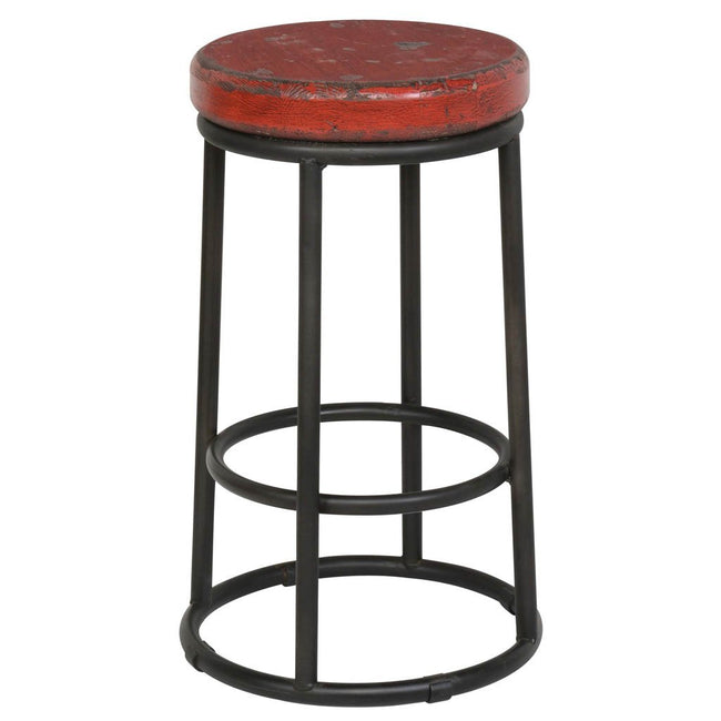 Jaden Fun Stool - Red