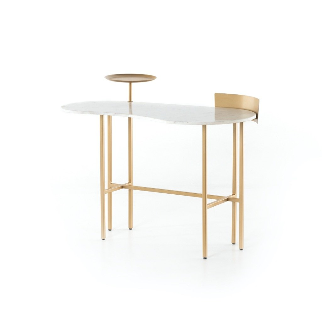 Juliet Desk - White Marble