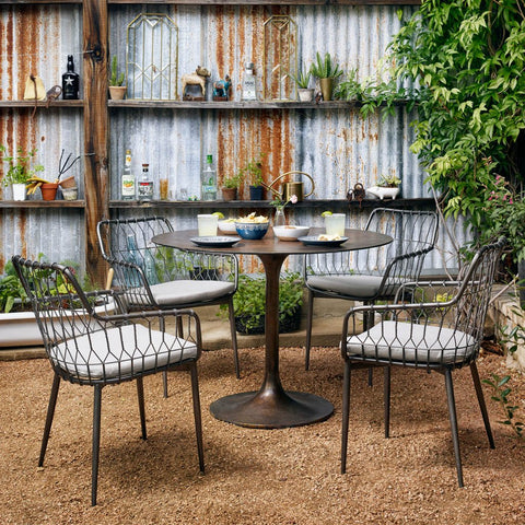 Four Hands Kade Outdoor Dining Chair PPLM-005K-700