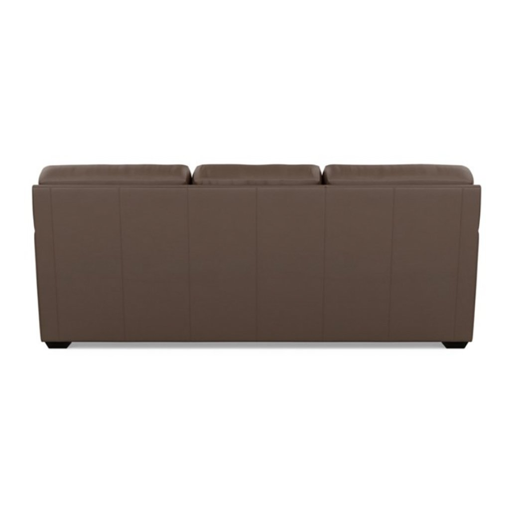 Kaden Leather Three Seat Sofa by American Leather Back View