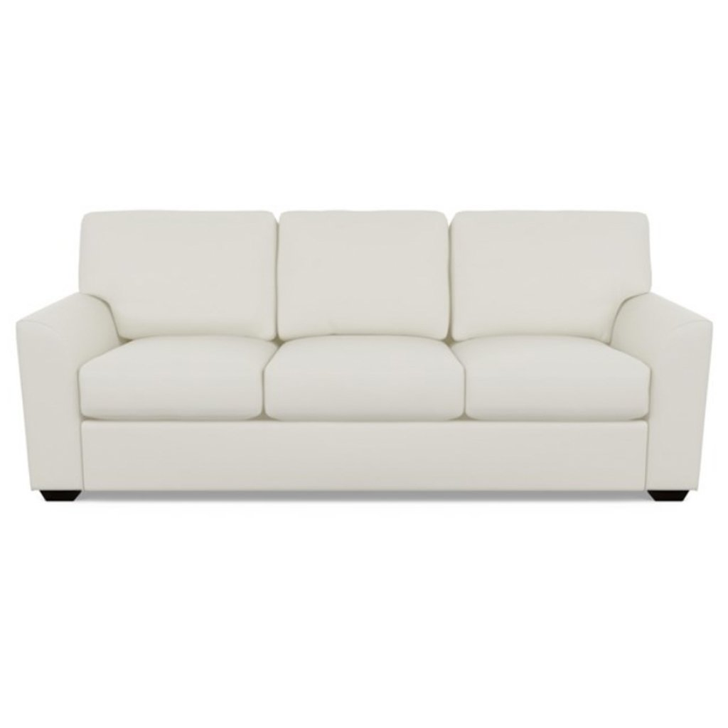 Kaden Leather Three Seat Sofa by American Leather Bali Cloud